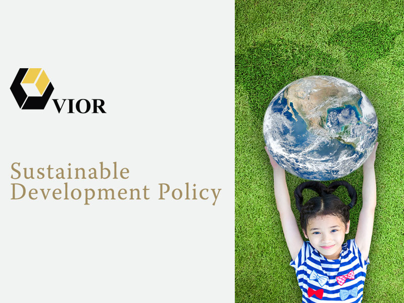 VIOR - Sustainable Development Policy
